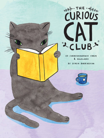 The Curious Cat Club Notecards