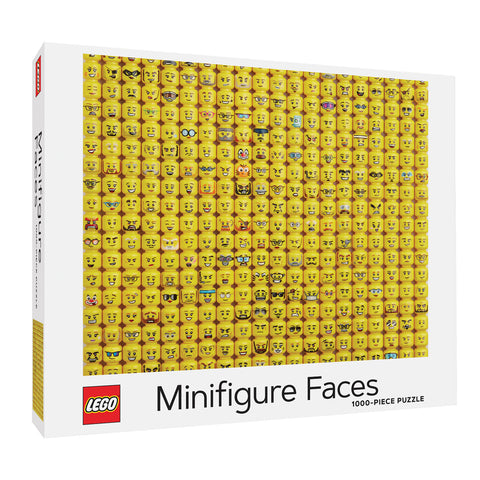 LEGO® Minifigures Faces 1000 Piece Puzzle