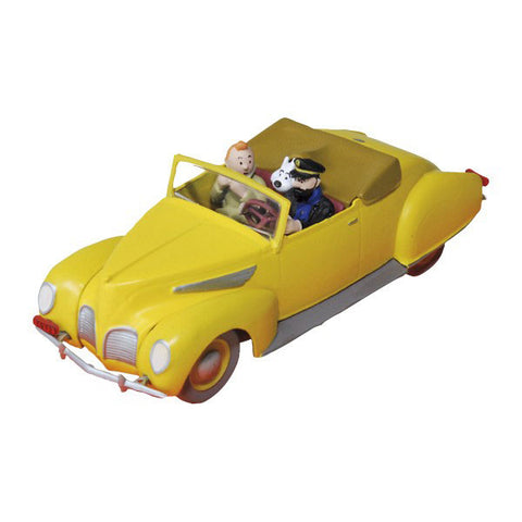 Die Cast Car, Tintin in a Lincoln Zephyr