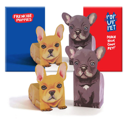 Rosie Flo Pop Up Pets Frenchie Pups