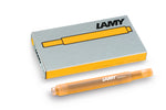 Lamy Candy Special Edition Mango Ink Cartridges