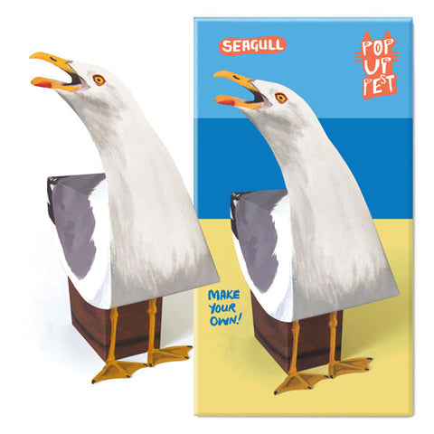 Rosie Flo Pop Up Pet Seagull