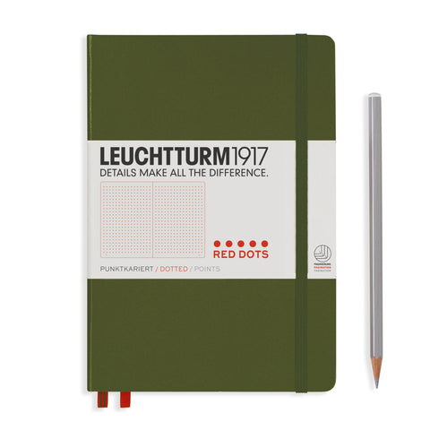 Leuchtturm 1917 Red Dots Medium Notebook