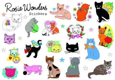 Rosie Wonders Stickers