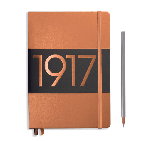 Leuchtturm 1917 Metallic Medium Notebook