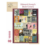 Edward Gorey's Book Covers 1000 Piece Puzzle