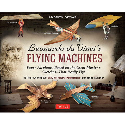 Leonardo da Vinci's Flying Machine Paper Models