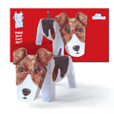 Rosie Flo Pop Up Pet Fox Terrier