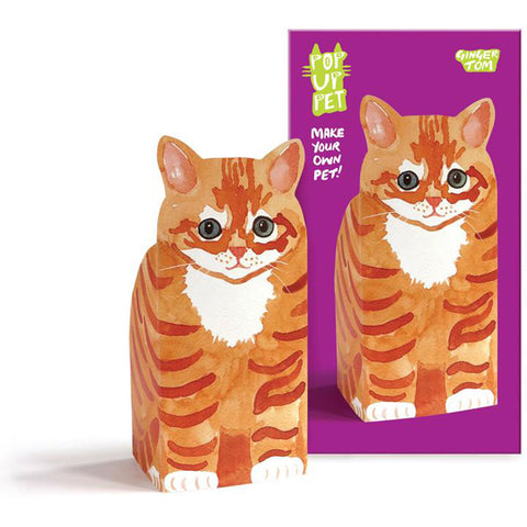 Rosie Flo Pop Up Pet Ginger Tom