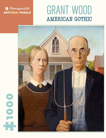American Gothic Jigsaw Puzzle, 100 Pieces