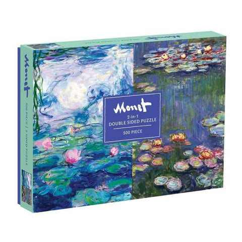 Monet Double Sided Jigsaw Puzzle, 500 Pieces