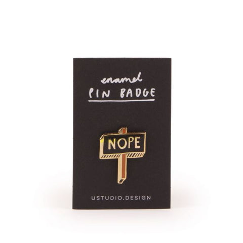 Ustudio Enamel Pin Badge