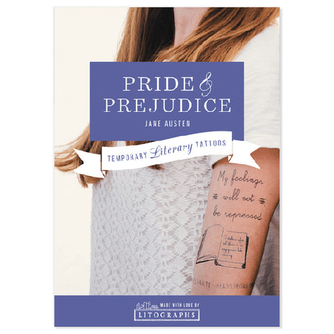 Literary Tattoos Pride & Prejudice