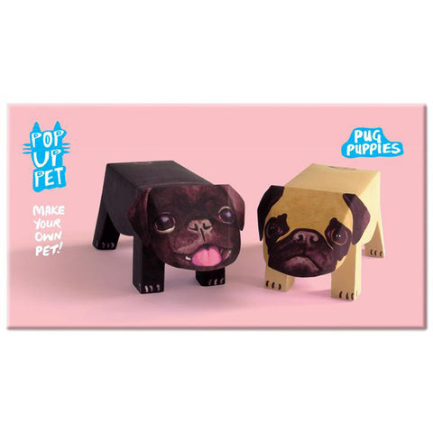 Rosie Flo Pop Up Pet Pug Puppies