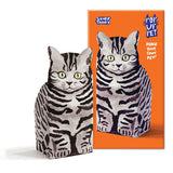 Rosie Flo Pop Up Pet Silver Tabby Cat