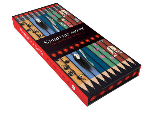 Studio Ghibli Spirited Away Graphite Pencil Set