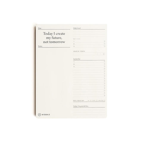MiGoals Future To-Do List Deskpad
