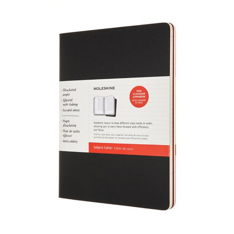 Moleskine Subject Cahier