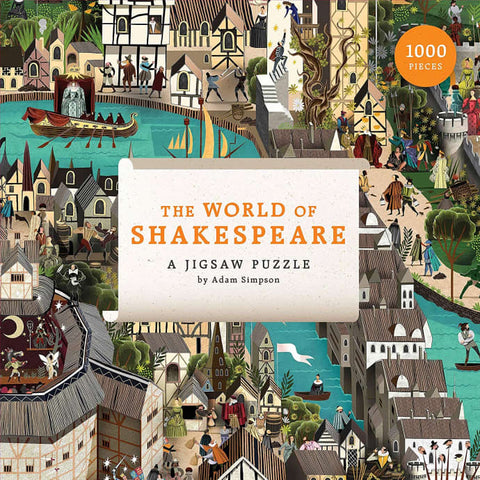 World of Shakespeare 1000 Piece Jigsaw Puzzle