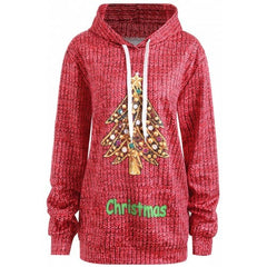 Christmas Plus Size Hoodie with Pockets