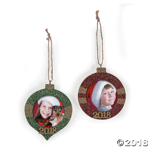 2018 Picture Frame Ornaments