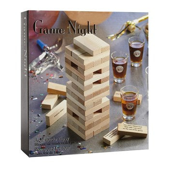 Tipsy Tower Game Night Set