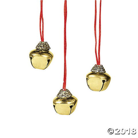 goldtone-jingle-bell-necklaces Goldtone Jingle Bell Necklaces