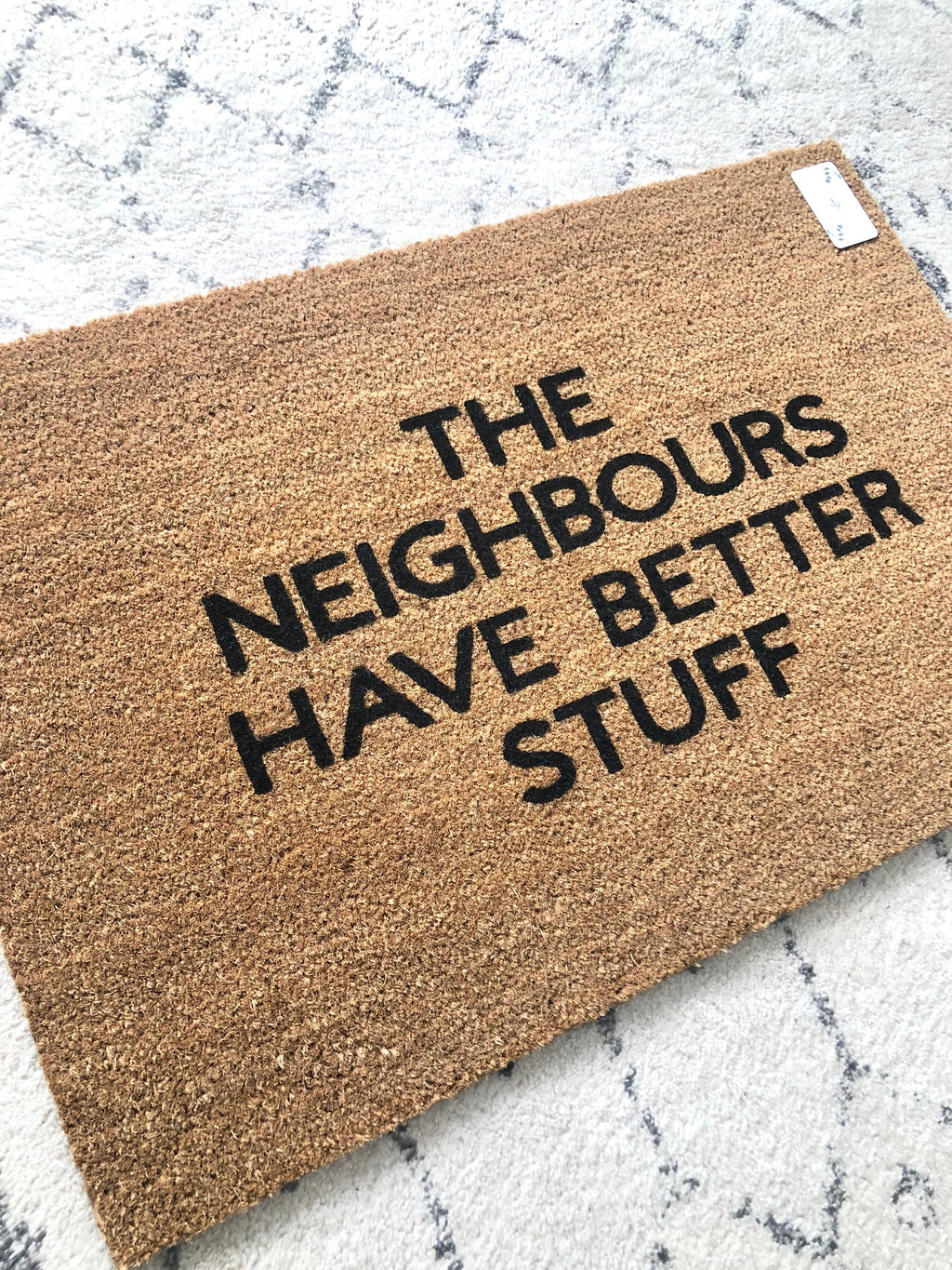 The Neighbours Have Better Stuff