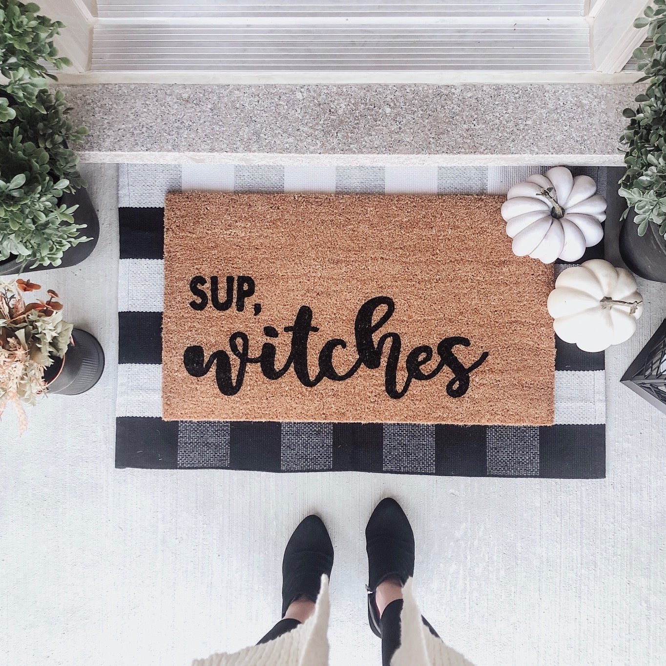 Sup Witches Doormat