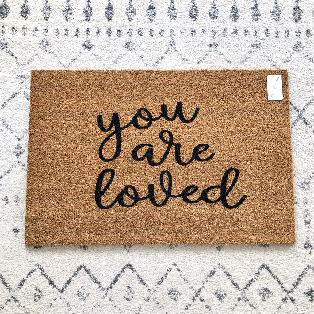 You are loved Doormat