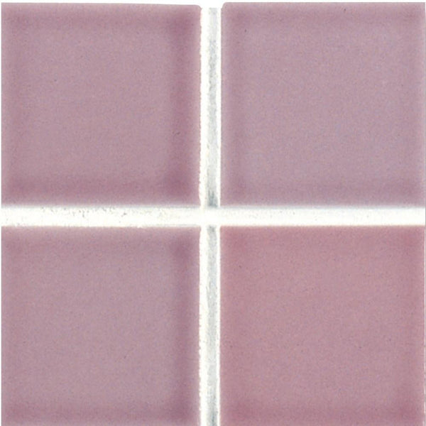 Cepac Porcelain Mosaic Tiles, Frost Proof/Acid Resistant, Matrix, Lilac, 2″ x 2″