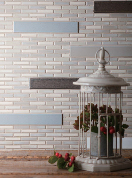 Cepac Porcelain Mosaic Tiles, Frost Proof/Acid Resistant, Rudiment, Multi-color, Multi-size