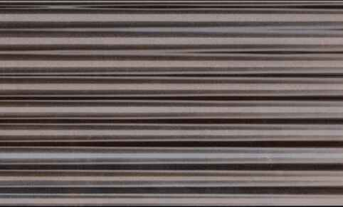 "Diesel Living, Iris Ceramica Wall Tiles, Ribbed Oxide, Burnish, 4""x8"""