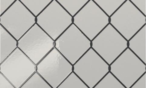 "Diesel Living, Iris Ceramica Wall Tiles, Fence, Decoro, 8""x8"""