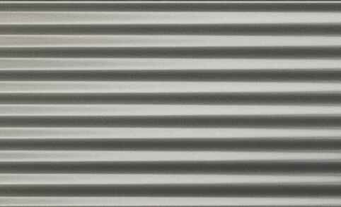 "Diesel Living, Iris Ceramica Wall Tiles, Ribbed Oxide, Grey, 4""x8"""