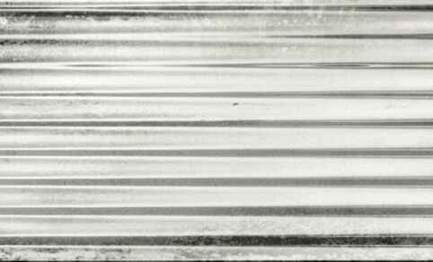 "Diesel Living, Iris Ceramica Wall Tiles, Ribbed Oxide, White, 4""x8"""