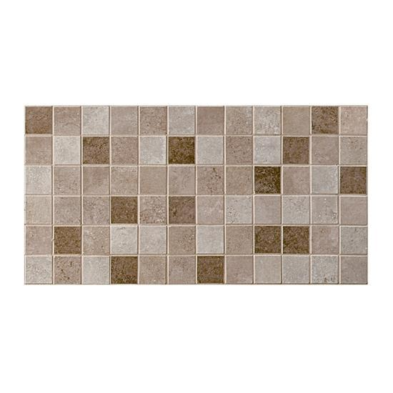 American Olean Glazed Ceramic Mosaic, Pozzalo Collection, Universal, 12x24