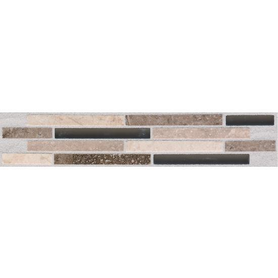 American Olean Decorative Ceramic Wall Accent, Pozzalo Collection, Universal, 2x9