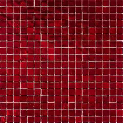 "Mir Mosaic, Alma Tiles, Solid Colors 0.6"" Collection, Part 1, Multi-color, 11.6"" x 11.6"""