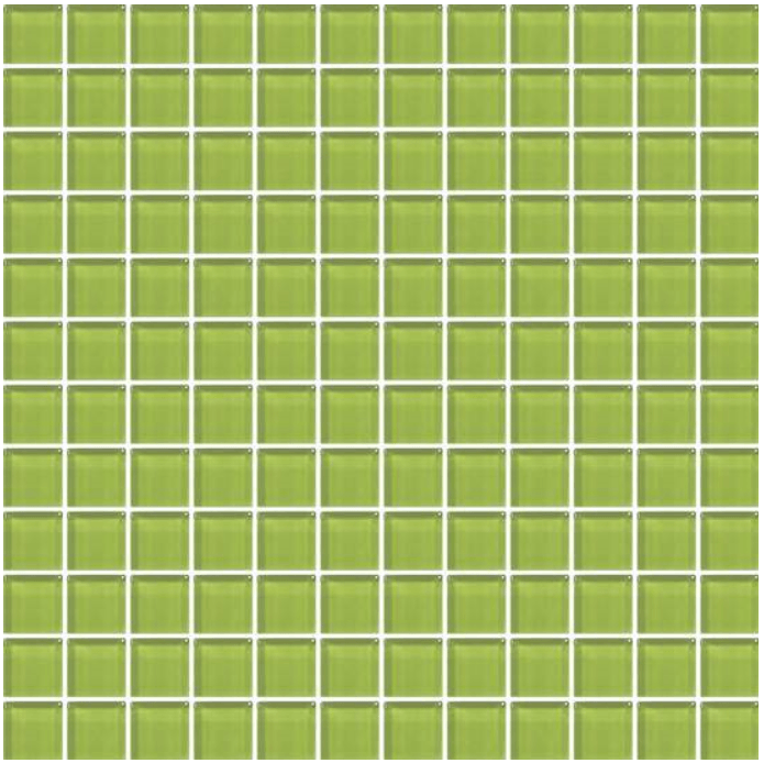 American Olean Glass Solids Tile, Color Appeal Collection, Multi-Color, 12x12