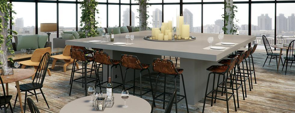 Caesarstone, Metropolitan Collection, Raw Concrete 4004