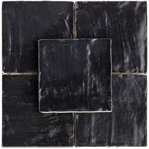 Soho Studio Ceramics Tiles, Myorka, Multi-Color, 4x4 Tiles Soho Studio Black