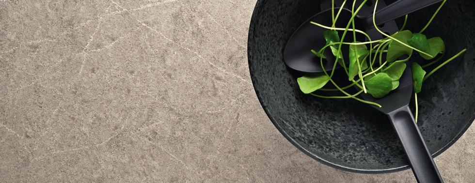 Caesarstone, Supernatural Collection, Symphony Grey 5133