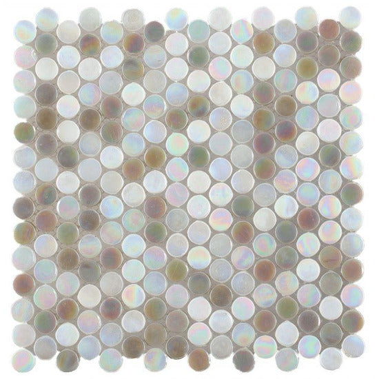 "Elysium Tiles, Pool Tiles, Inari Penny New, 11.75"" x 11.75"""