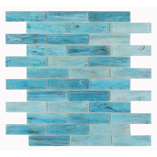 Elysium Tiles, Mosaic Glass, Hot, Multi-color, Multi-size