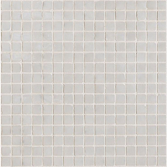 Elysium Tiles, Mosaic Glass, Neutra 01.Bianco, Multi-color, Multi-size