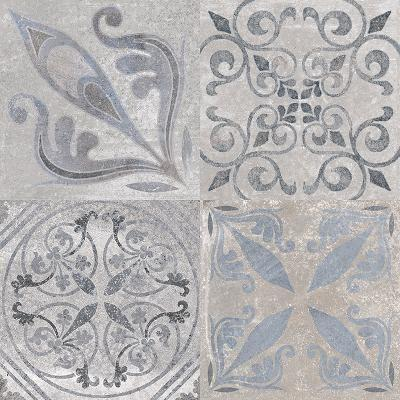"Porcelanosa Floor Tile, Antique, Multi-Color Tiles Porcelanosa USA Acero 23""X23"""