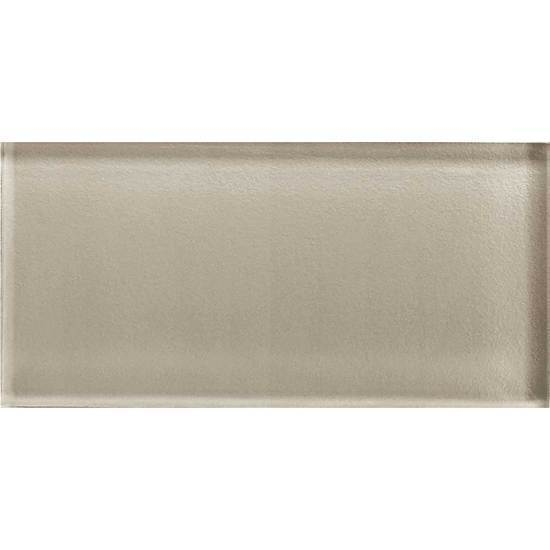 American Olean Glass Solids Tile, Color Appeal Collection, Multi-Color, 3x6