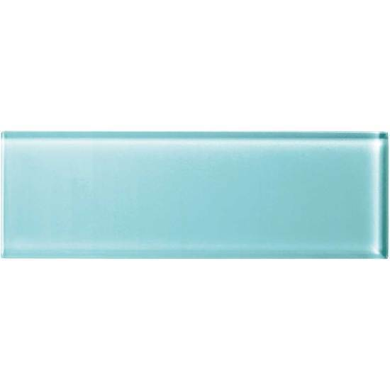 American Olean Glass Solids Tile, Color Appeal Collection, Multi-Color, 4x12