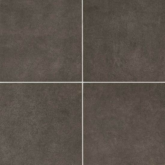American Olean Glazed Porcelain Floor Tile, Concrete Chic Collection, Multi-Color, 12x12
